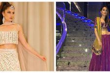 9 Potret cantik Cinta Laura bergaya ala India, auranya makin terpancar