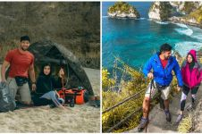 10 Momen liburan Irish Bella & Ammar Zoni di Bali, trekking berdua