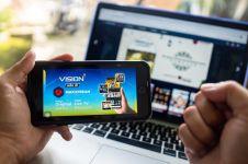 Kolaborasi Telkomsel dan Vision+, nonton konten premium di smartphone
