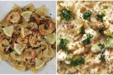 15 Resep kreasi pasta rumahan buat sahur, mudah dan enak