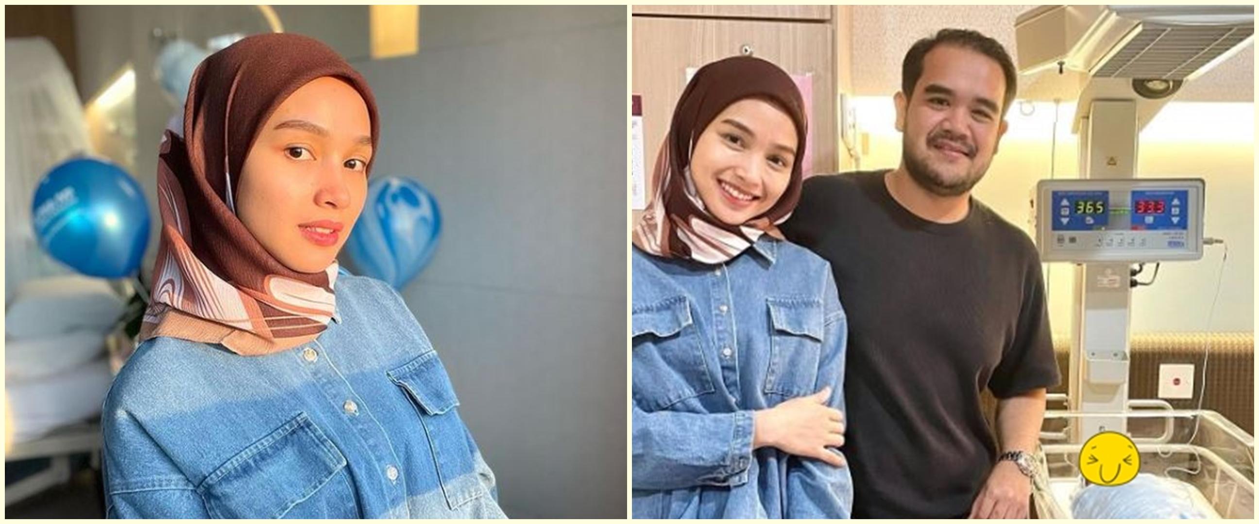 8 Momen Tya Arifin jenguk Siti Nurhaliza lahiran anak kedua