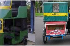 10 Modifikasi transportasi umum ini uniknya bikin senyum lebar