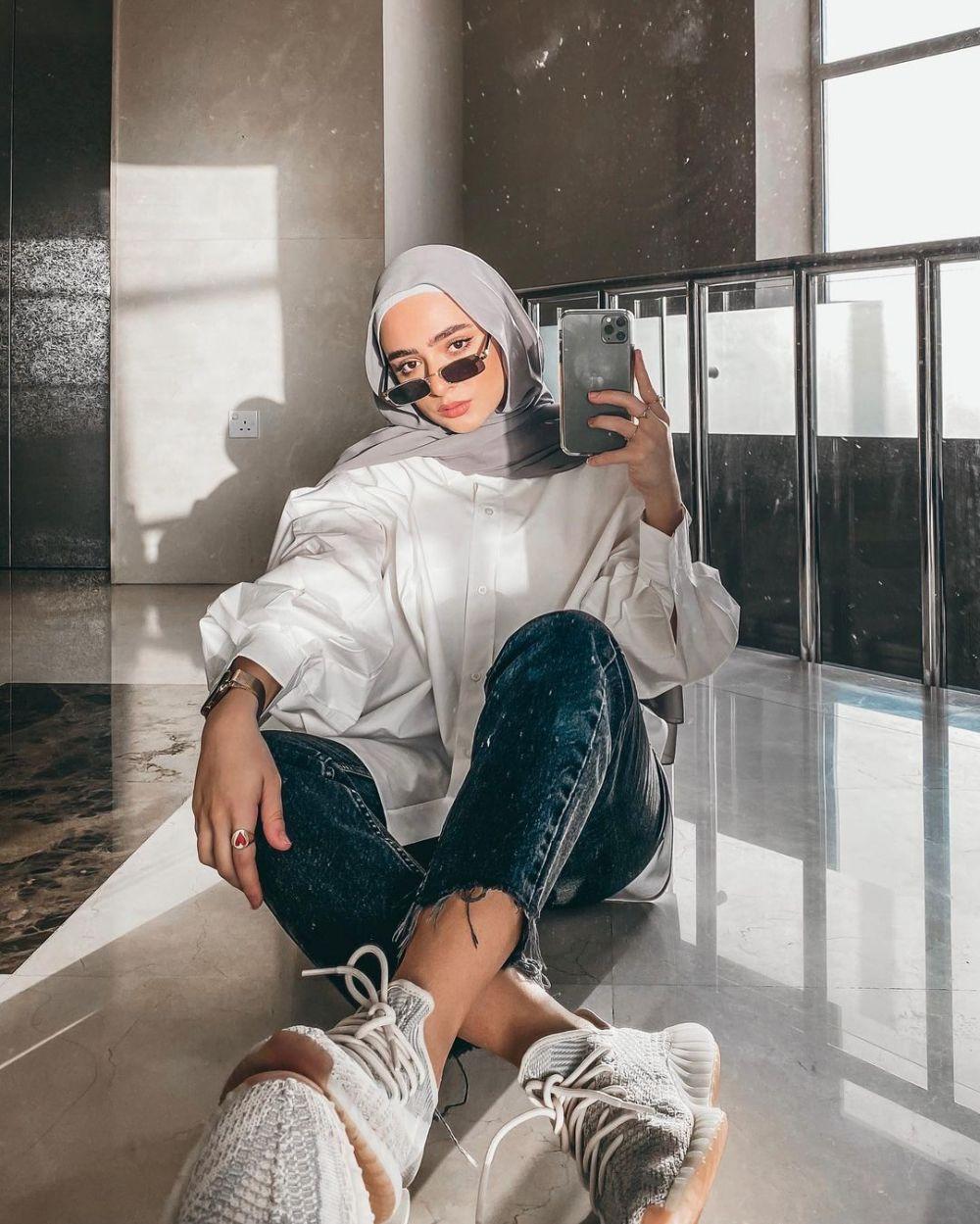 gaya hijab influencer dunia © 2021 brilio.net