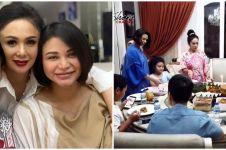 10 Momen Yuni Shara bersaudara buka puasa, menu takjilnya gorengan