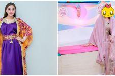 10 Pesona Celine Evangelista kenakan busana muslim, curi perhatian