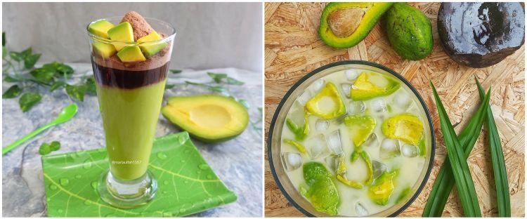 10 Resep minuman buka puasa dari alpukat, segar dan praktis