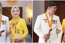 10 Momen manis Ridwan Kamil dan Atalia Praratya, saling menguatkan