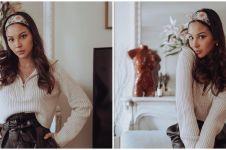 10 Penampakan rumah Alyssa Daguise di Paris, elegan serba putih