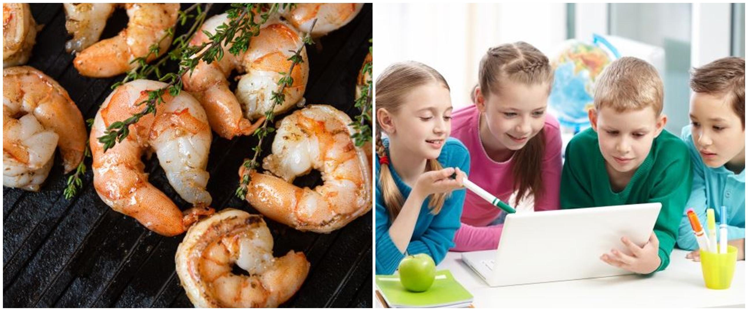 7 Manfaat udang bagi anak, dapat tingkatkan imun tubuh