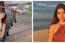 7 Potret Cassandra Lee liburan ke Lombok, memesona tampil natural