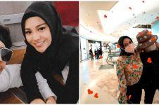 10 Momen Atta dan Aurel ngabuburit, shopping barang branded