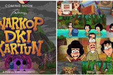 Dikemas dalam bentuk animasi, ini 8 fakta film Warkop DKI Kartun