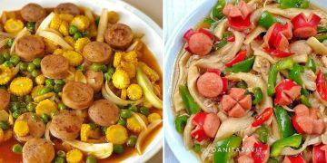 12 Resep sahur dengan tumis sosis, praktis dan bikin kenyang