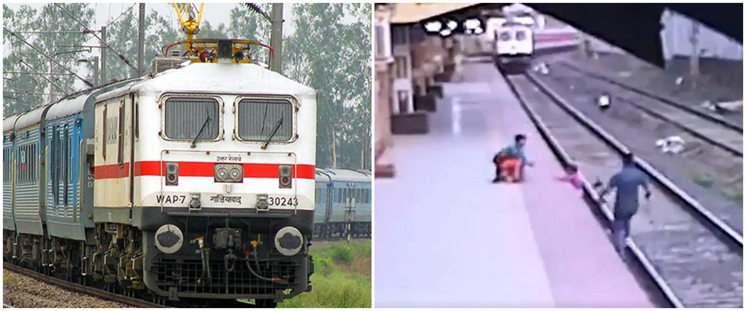 Aksi heroik pekerja kereta api selamatkan anak dari kecelakaan maut