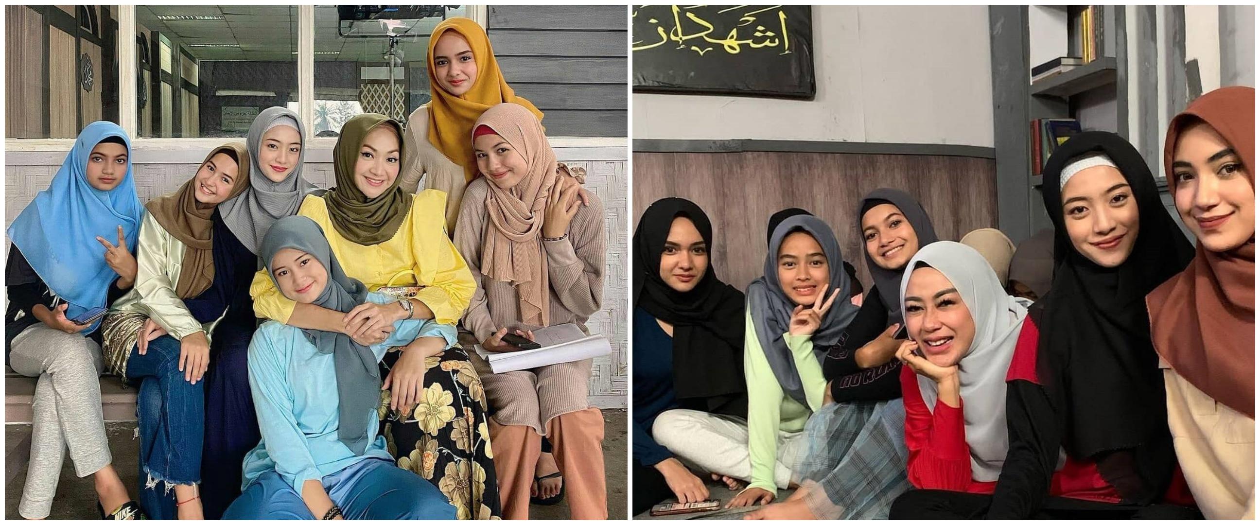 Potret 8 pemain Dari Jendela SMP pakai hijab, cantik dan anggun