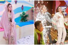 Makin eksis, ini 10 momen Celine Evangelista syuting acara Ramadan