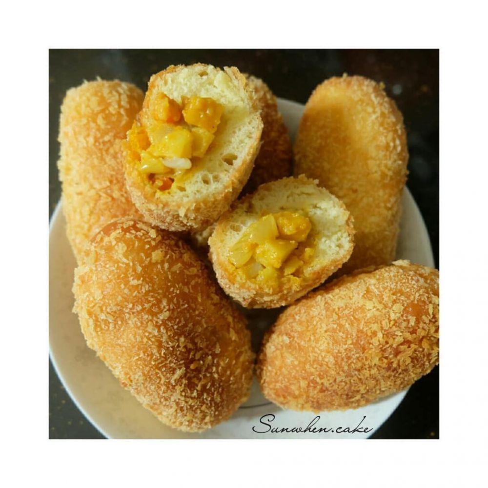 Resep menu sahur dari olahan roti tawar Instagram