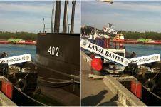 Kapal selam KRI Nanggala-402 hilang kontak, bawa 53 awak