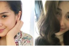 7 Beda potret Nagita Slavina dan Ayu Ting Ting saat tanpa makeup