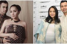 10 Potret lawas Nagita Slavina pamer baby bump saat hamil Rafathar