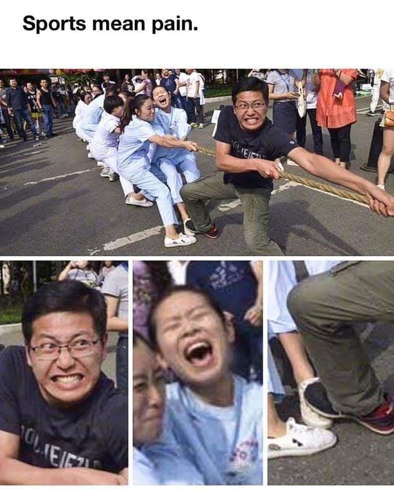 ekspresi lucu warganet ikut lomba © 2021 Instagram