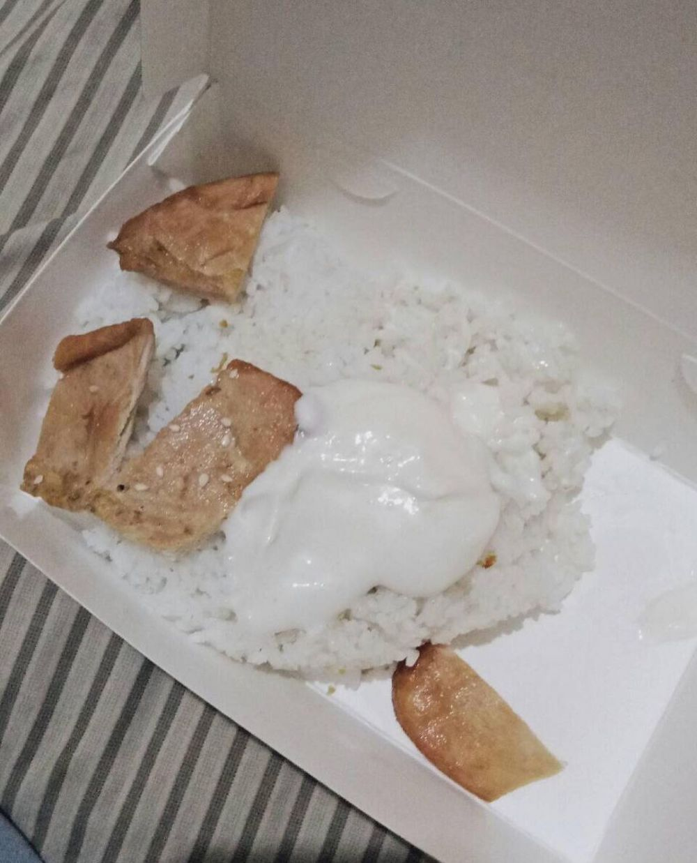Potret lucu isi nasi kotak © berbagai sumber