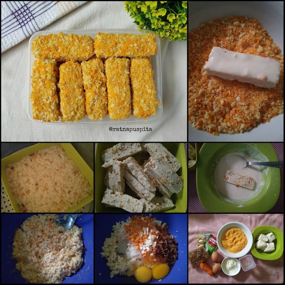 Resep olahan nugget untuk menu sahur © berbagai sumber