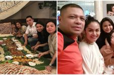 9 Momen bukber Yuni Shara bersaudara dari tahun ke tahun, menunya unik