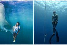 7 Seleb ini gemar freediving, terbaru Dikta 'Yovie & Nuno'