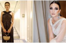 11 Gaya Nagita Slavina saat kondangan, harga outfitnya bikin melongo