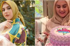 7 Momen ulang tahun Irish Bella ke-25, sang ibu datang dari Turki