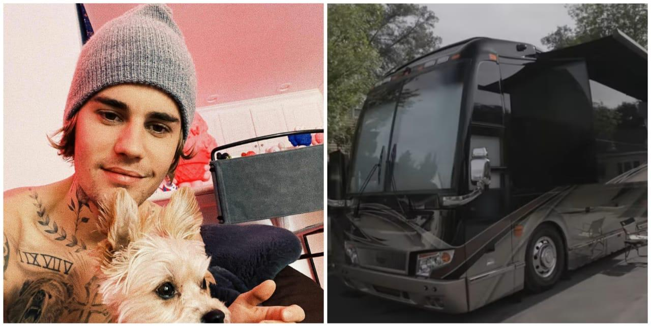 12 Penampakan mini bus milik Justin Bieber, mewah bak bintang 5