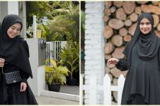 10 Beda gaya outfit Lesty Kejora dan Nadya Mustika, tetap stylish
