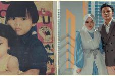10 Potret kompak Putri Delina dan Rizky Febian dari kecil hingga kini