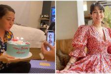 10 Momen kocak kejutan ulang tahun Mieke Amalia ke-44, bikin ngakak