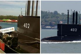 Kapal selam KRI Nanggala-402 dinyatakan tenggelam usai 72 jam