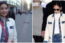 Potret Nagita Slavina kembaran baju dengan 4 artis Korea