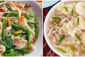 10 Resep olahan jamur untuk sahur, lezat dan mudah dibuat