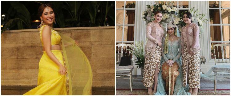 Harga 7 fashion item Ayu Ting Ting saat kondangan, tasnya Rp 176 juta