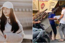 7 Momen Ranty Maria rayakan ultah secara sederhana, bagi-bagi sembako