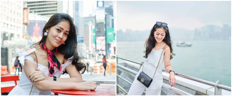Jarang diumbar, ini 6 momen kebersamaan Gracia Indri & pacar bulenya