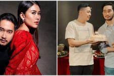 8 Momen perayaan ultah Jeje suami Syahnaz, buka puasa bersama