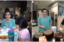 Potret sederhana Ashanty buka puasa di meja makan dapur, tuai pujian