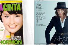 11 Pesona Nagita Slavina jadi cover majalah, ada yang masih remaja