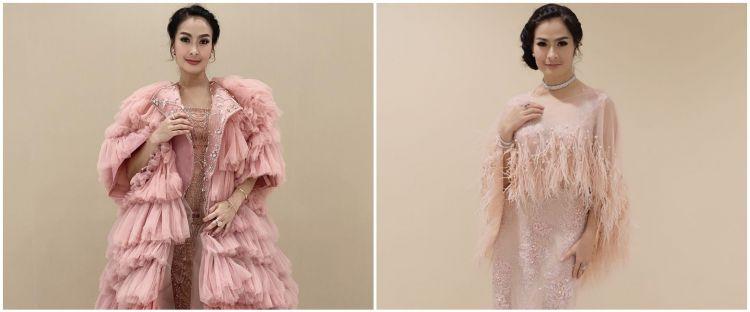 8 Potret walk in closet Iis Dahlia, penuh koleksi kostum manggung