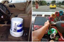 20 Penampakan nyeleneh interior mobil ini bikin dahi mengerut