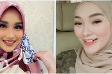 Gaya anggun 15 pedangdut saat kenakan hijab, meneduhkan