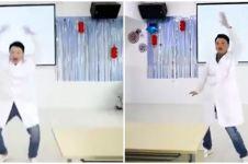 Viral aksi dokter di China lakukan orangutan dance, jadi obat mental