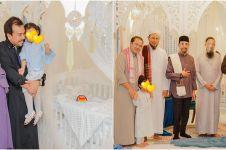 Dikenalkan ke publik, ini 10 momen aqiqah anak kedua Siti Nurhaliza
