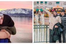 9 Potret Zaskia Sungkar kenang liburan ke luar negeri bareng Irwansyah